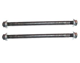 Voorwielas (19cm) + Achterwielas (23cm) - set