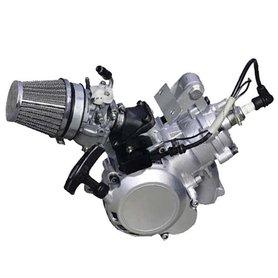 Compleet 39cc watergekoeld 8 a 9pk raceblok met carburateur en trekstarter
