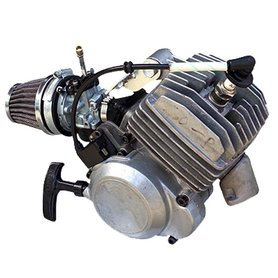 Compleet 39cc luchtgekoeld 7pk raceblok met carburateur en trekstarter