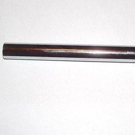 Stuurstang - staal/chroom - per stuk - zowel geschikt voor links als rechts