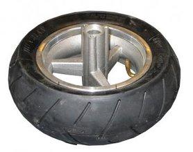 Achterwiel + Achterband (soft) - Slick - 110/50-6,5