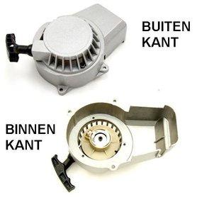 Minibike Trekstarter Aluminium Compleet - met Aluminium Rondsel!