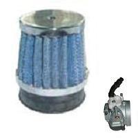 Race Luchtfilter - High Performance - voor de standaard (14mm) carburateur of dellorto imi (14mm) carburateur - bevestigingsdiameter: 58mm