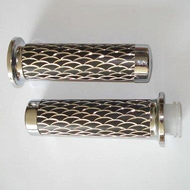 Handvaten - Zwart / Zilver