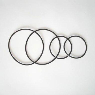 Complete rubberen pakkingset - 2x koppakkingen + uitlaatpakking + kleine koppakking