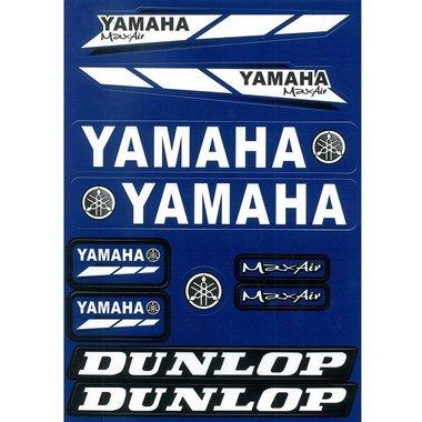 Stickerset Yamaha - GROOT VEL: 21x30cm