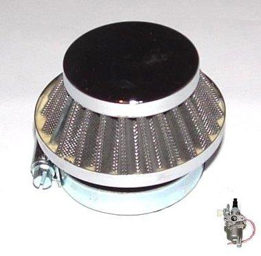 Race Luchtfilter - voor de standaard (12mm) carburateur - bevestigingsdiameter: 44mm