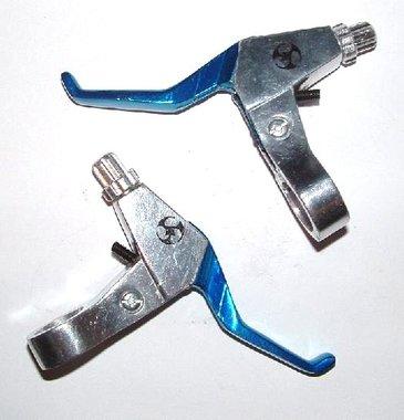 Remhendelset - metaal - Blauw / Zilver